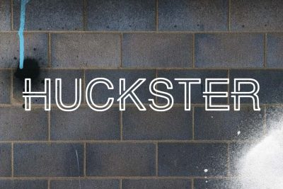 HUCKSTER London Logo and Branding Design