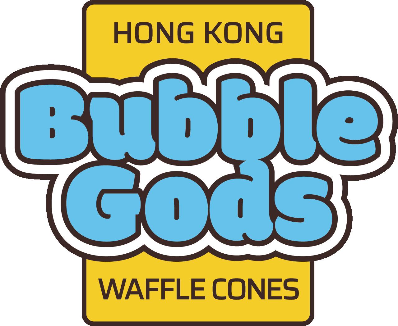 Branding design in London for street food vendor, Bubble Gods