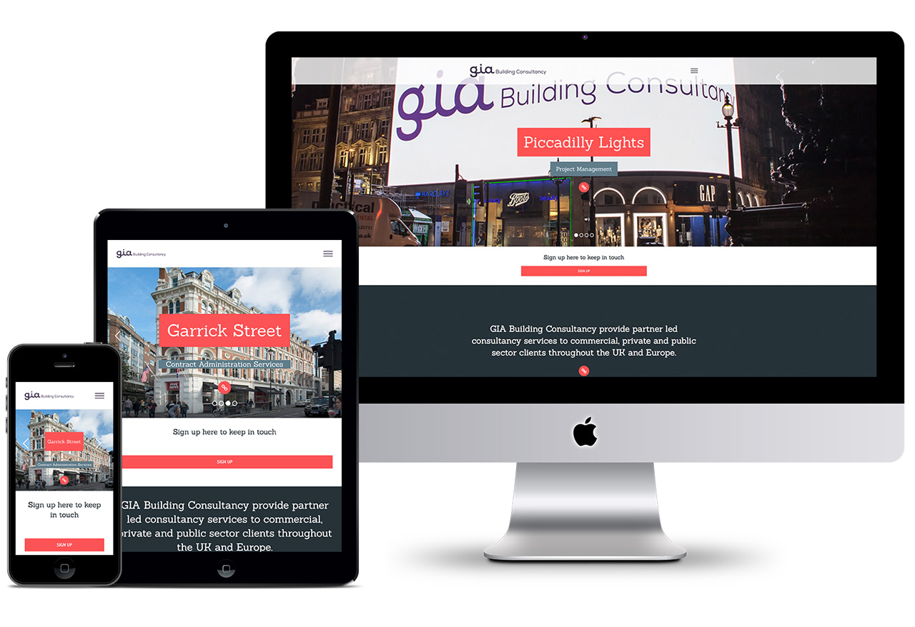 Website Design in London for GIABC nthn