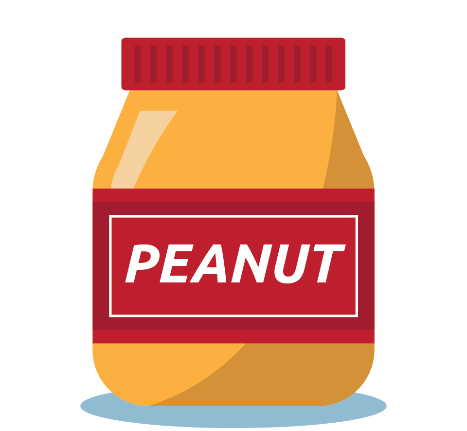 Branding design illustration in London for street food vendor, Bubble Gods peanut