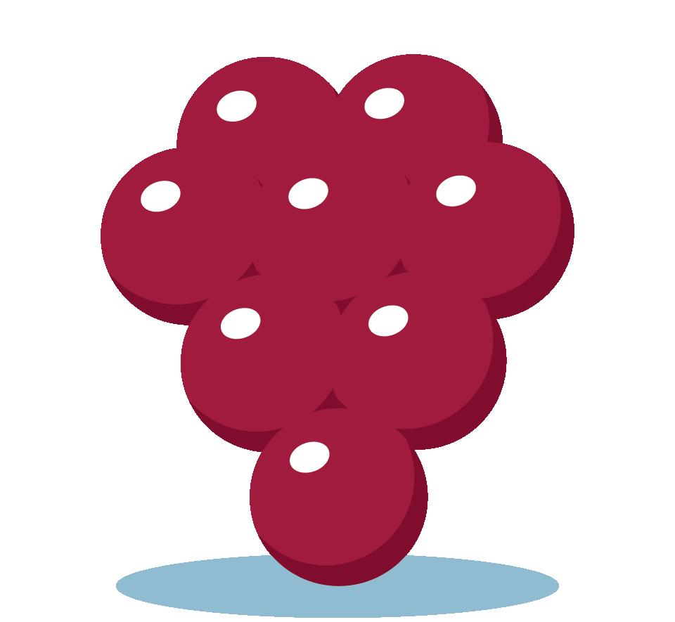 Branding design illustration in London for street food vendor, Bubble Gods raspberry